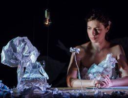 "Kasia Chmura-Cegiełkowska for ""Puppet is a human too"" Festival, Warsaw 2015"